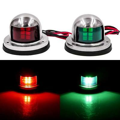 AU17.98 • Buy LED Navigation Lights Chandlery Boat Yacht Skeeter DC 12V (stainless Steel)