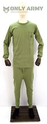 $26.40 • Buy Spanish Army Base Layer Thermal Top + Bottoms Set Military Underwear Long Johns