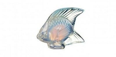 Lalique Crystal (Brand New) - Fish Figurine : Opalescent Lustre 10307700 • 80£