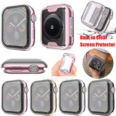 $ CDN4.27 • Buy  For Apple Watch Series 4 40mm / 44mm Full Body Protective Soft TPU Case Cover