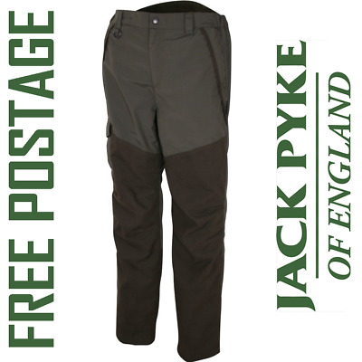 JACK PYKE ASHCOMBE TROUSERS Shooting Hunting Fishing Beating Country WATERPROOF • 50.95£