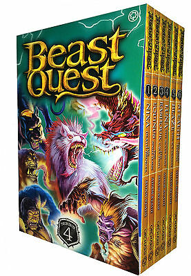 Beast Quest Series 4 - 6 Books Young Adult Collection Paperback By Adam Blade • 11.69£