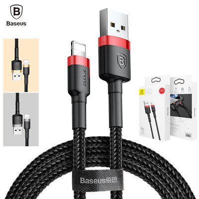 AU9.99 • Buy Baseus MFI Certified Fast Charging Lightning Data Sync Cable Apple IPad IPhone