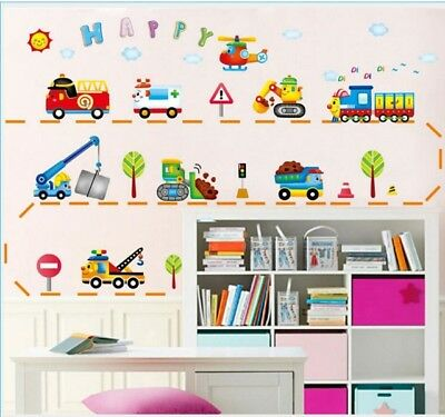 boys cars wall stickers