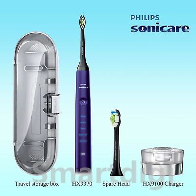 AU167.95 • Buy Philips Sonicare DiamondClean Sonic Electric Toothbrush HX9370 Amethyst W/o Pack