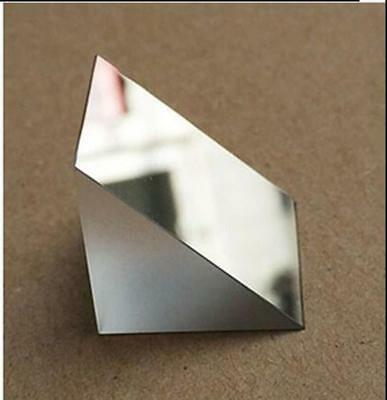 $18.50 • Buy 2pcs 25x25x25mm K9 Optical Glass Right Angle Slope Reflecting Prism  S