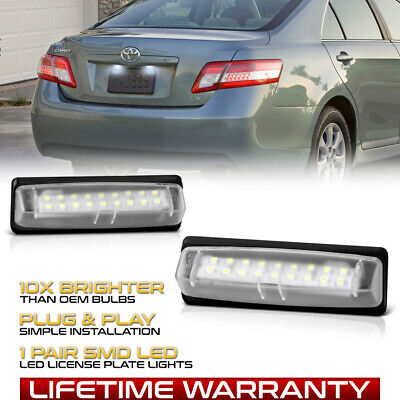 $12.96 • Buy [FULL LED] License Plate Light For Lexus IS ES GS RX Toyota Camry Prius Sienna