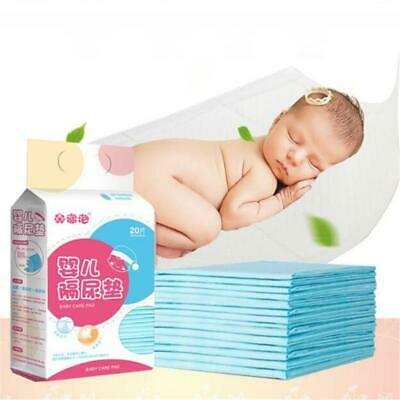 20PCS Baby Insulation Care Pad Disposable Waterproof Mattress Diaper T • 9.58£