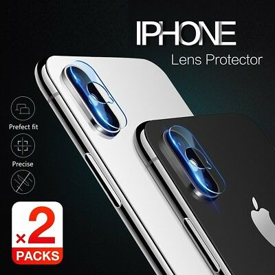 AU3.90 • Buy Fr Apple IPhone X XS Max XR 7 8 Plus Camera Lens Tempered Glass Screen Protector