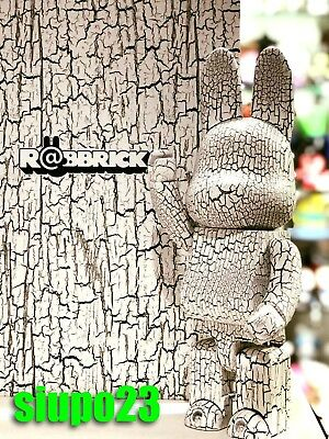 $999.99 • Buy Medicom 400% Bearbrick ~ Karimoku Wood Be@rbrick R@bbrick Rabbrick White Brich