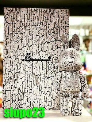 $999.99 • Buy Medicom 400% Bearbrick ~ Tree Pattern White Wood R@bbrick Rabbrick