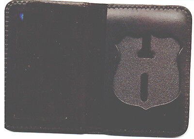 £14.49 • Buy Nassau County NY Police Officer Badge Shield/ID Book Wallet (Badge Not Included)