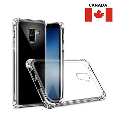 $ CDN4.95 • Buy Clear Case Slim Soft Bumper Cover For Samsung Galaxy S8 S9 S10 Plus Note 9 10