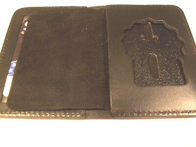 £14.49 • Buy Paterson Police (NJ) Detective Badge Shield/ID Book Wallet (Badge Not Included)