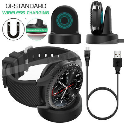 AU10.40 • Buy Charger For Samsung Gear/Galaxy Smart Watch 2018 Dock Station USB Charging Cable