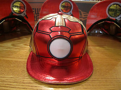 The Avengers Age Of Ultron Iron Man New Era Hat Marvel Comics Glows New 0345 • 60.08£