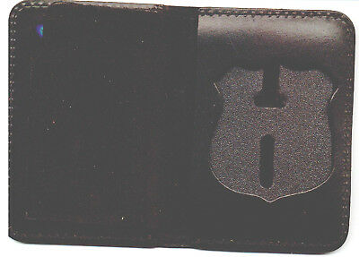 £14.49 • Buy NYS TBTA Police Officer Badge Shield/ID Book Wallet (Badge Not Included)