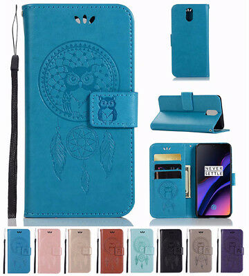 AU6.48 • Buy For OnePlus 6T 6 5T Magnetic Wallet Card Slots Flip PU Leather Case Cover