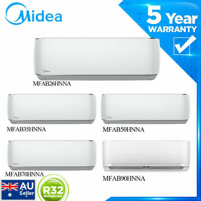 AU879 • Buy Midea 2.6/3.5/5.5/7.0/9.0kw Series High Wall Split Air Conditioner Cooling /heat