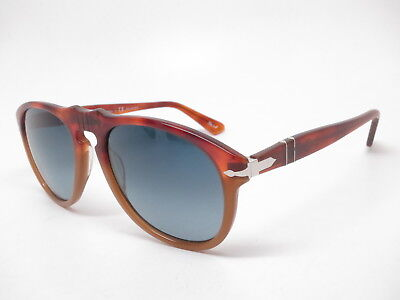 11f60c3f050e7 Persol PO 649 0649 1025S3 Resina E Sale Gradient Blue Polarized Sunglasses  54mm • 169.00