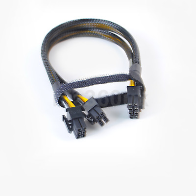 $ CDN17.01 • Buy  35cm 8pin To 6+6pin Power Cable For DELL R730 And NVIDIA Quadro K6000 GPU
