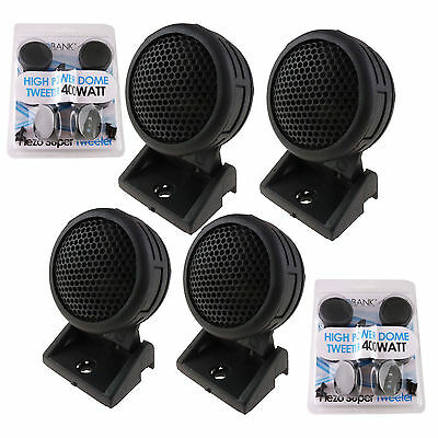 $ CDN13.05 • Buy 800W Mini Car Dome Tweeters 2 Pairs AB-204T Total Super High Frequency