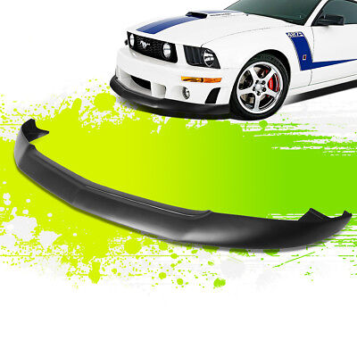 $153 • Buy For 05-09 Ford Mustang Gt Ikc Style Front Bumper Chin Lip Lower Spoiler 06 07 08