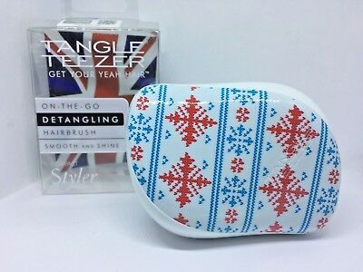 £7.79 • Buy 🎁🎄 Tangle Teezer Compact Style Winter Frost Limited Edition Best Price UK 🎁🎄