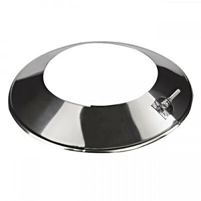 Metal Pipe Storm Collar / Chimney Liner Rosette /Roof Rain Cover Flange • 12.99£