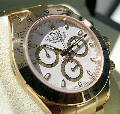 $ CDN47434.59 • Buy Rolex Cosmograph Daytona 116508 Yellow Gold White Index Dial Watch 40mm Watch