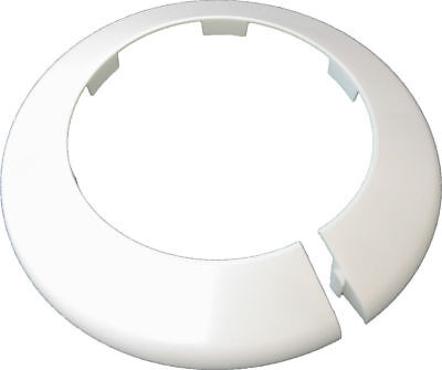 Toilet Soil Pipe Cover - Collar - 110mm White • 4.99£