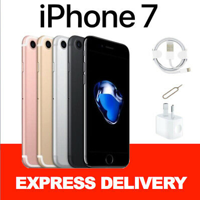 AU295 • Buy LIKE NEW Apple IPhone 7 32GB 128GB 256GB 100% Factory Unlocked Smartphone