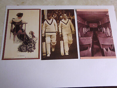 £0.99 • Buy Three Nostalgia Postcards. Yesterdays Britain. Collectable. Cricket. History.
