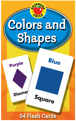 £4.99 • Buy Baby Book  Gift Toy Toddler Kid Shapes Colors Brighter Child Flash Cards