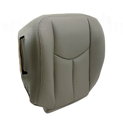 $38.50 • Buy For 2003 2004 2005 2006 Chevy Tahoe Suburban Driver Bottom Seat Cover Gray 922