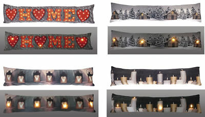 Light UP LUXURY  DRAUGHT DOOR WINDOW CUSHION EXCLUDE-RD DRAUGHT PROTECTION • 13.99£