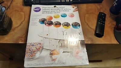 £5.61 • Buy Wilton Pops Decorating Stand Holds Up To 44 Cake Pops NIP
