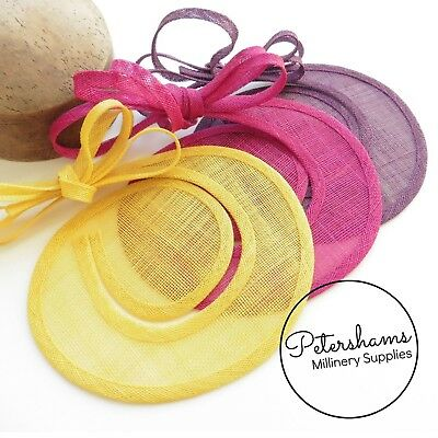 £6.75 • Buy Sinamay Swirl - Make An Instant Fascinator For Hat Making And Millinery!