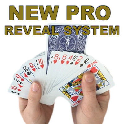 Invisible Deck New PRO VERSION! Blue Back Bicycle Cards Easy Card Magic Tricks • 8.49£