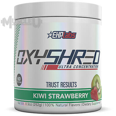 AU79.95 • Buy EHPlabs OxyShred 60 Serves - CHOICE OF FLAVOUR - Thermogenic EHP Labs Oxy Shred