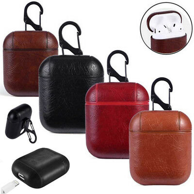 AU5.69 • Buy AirPods Case Protective Genuine Leather Holder Bag For Apple Air Pod Accessories