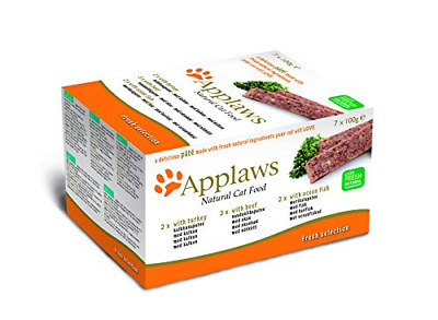 Applaws Cat Food Pate Multipack Country Selection 7x100g • 13.25£