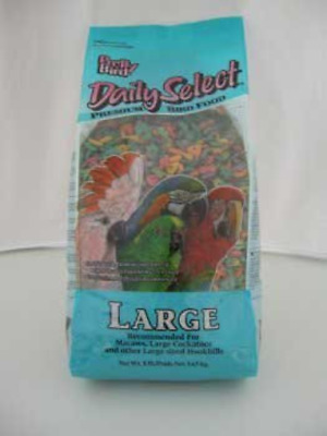 Pretty Bird Daily Select Large Complete Parrot Food 3.63kg 8lb • 49.03£