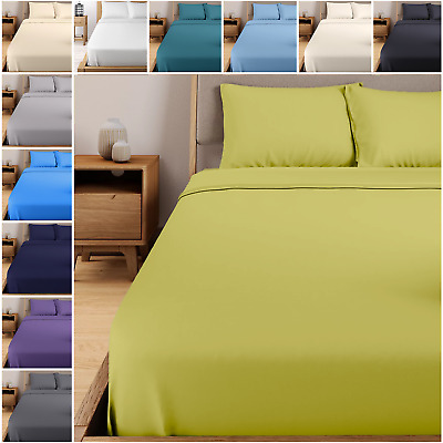 £5.99 • Buy Extra Deep Fitted Sheet 100% EGYPTIAN Cotton 400 Thread Count SINGLE DOUBLE KING