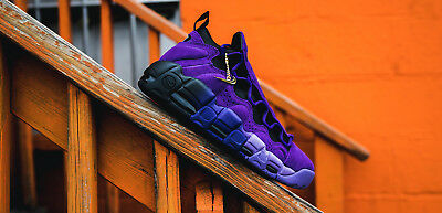 New Nike Air More Money QS Purple Men s Size 11 Shoes AQ2177 500 • 99.50  303771a47