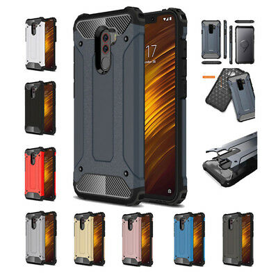 $ CDN5.33 • Buy For Xiaomi Pocophone F1 Shockproof Hybrid Armor Tough Rugged Back Case Cover