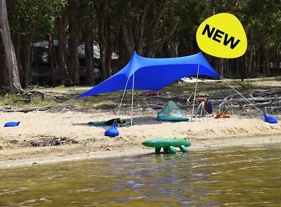 AU40 • Buy New Outdoor Connection Large Fiesta Portable Sun Shelter Beach Pool Picnic Shade