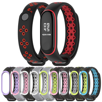 $2.25 • Buy For Xiaomi Mi Band 4 Replacement Sport Silicone Strap Wristband Bracelet