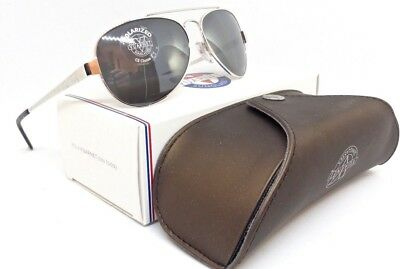 ef9ef7b803 New Vuarnet Sunglasses Pilot Aviator Grey Polarized Lens Vl 1050 Pc Polar  3000 • 83.30