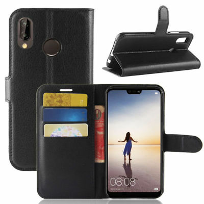 NEW FOR HUAWEI ----- Y5 (2018) - Y6 (2018) - Y7 (2018)  Leather Wallet  Case • 3.79£